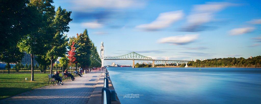 Promenade de la Tour de l'Horloge à Montréal