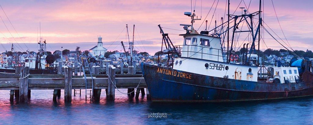 Port de Provincetown à Cape Cod