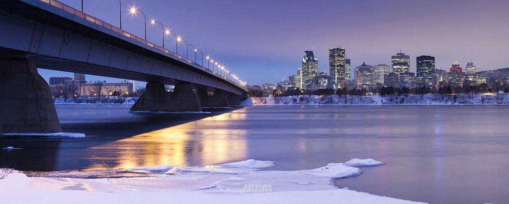 Pont de la Concorde à Montréal